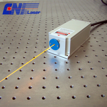 200mw 589nm narrow linewidth laser for spectrum analysis
