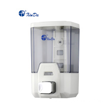 Foam type automatic soap dispenser for toilets