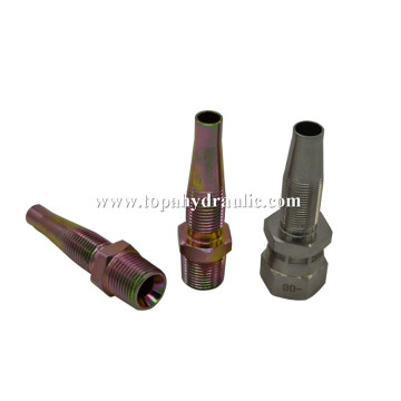 parker hydraulic system flexible hose fitting