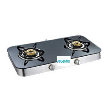 Crystal Curve 3 Burner Toughened Glass Cooktop