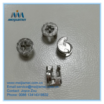 Minifix bolt fittings furniture fittings hardware fittings