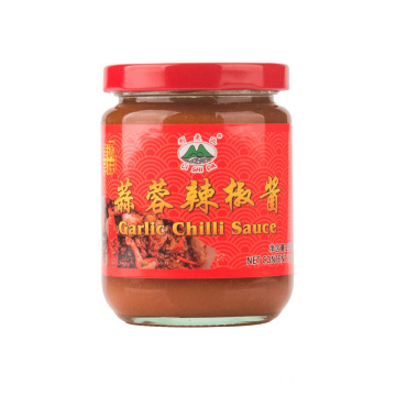 230g Glass Jar Garlic Chilli Sauce