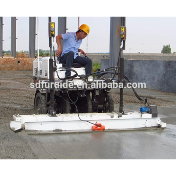 FJZP-200 ride on Hydraulic concrete slab paving machine Laser Screed