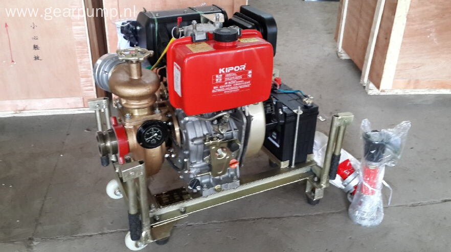 CWY type marine diesel portable emergency fire pump