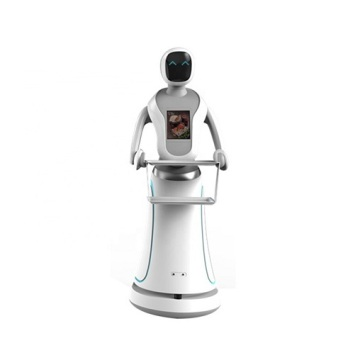 Cafe Waiter Robot Delivery Drink and Food