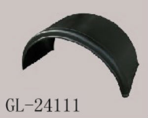 Durable Cheap Hot Sell Plastic Truck Mud Fender Fixing Craned Tube for Trailers