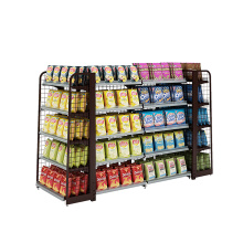 Powder Coating Steel Retail Store Display Shelving