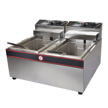 904# Stainless steel Gas Deep Fryer