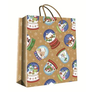CHRISTMAS KRAFT GIFT BAG52-0