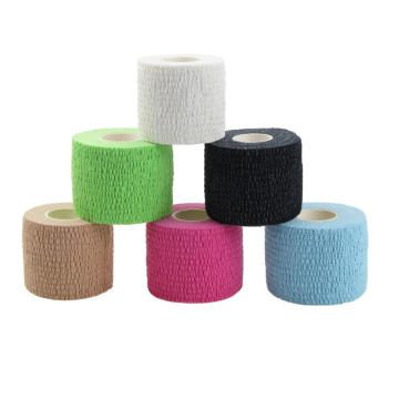 Breathable Crepe Cotton Fabric Medical Sports Bandage
