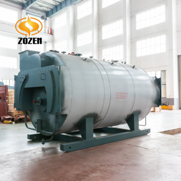 Gas fired hot water boilers for apartment heating