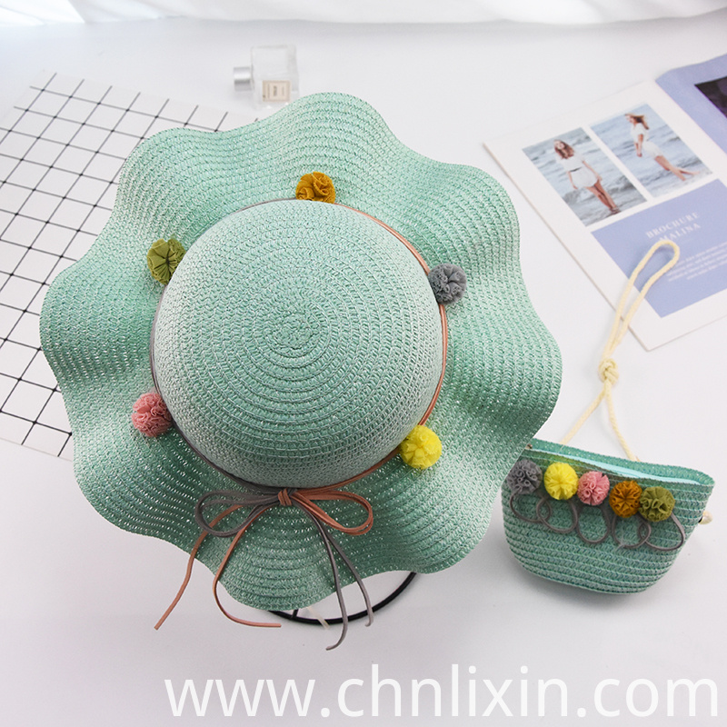 Children Summer Straw Hat Factory