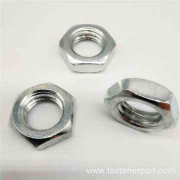A2 Metal Lock Titanium Hexagon Flange Nut