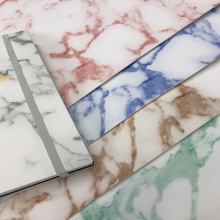 Marble Printed PU Faux Leather for Album Cover