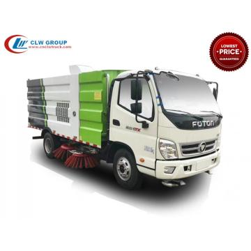 HOT New FOTON 5cbm Camion de balayage routier