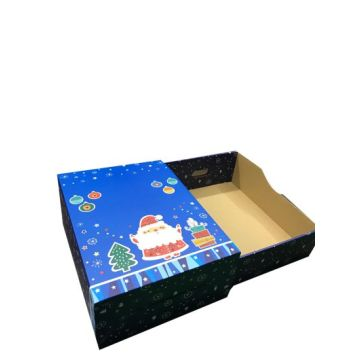 Luxury Corrugated Paper Christmas Gift Packaging Box