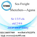 Shenzhen Port Sea Freight Shipping To Agana