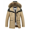 high quality men's parka