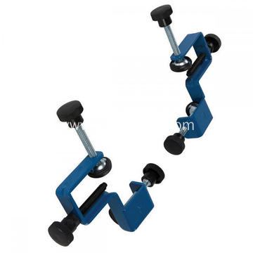 High Quality Powder Coating Blue Metal Adjustable Drawer Front Clamp