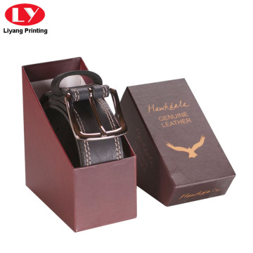 Special Paper Gift Box for Belt Packaging