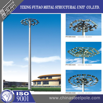 30M High Mast Lighting Steel Pole