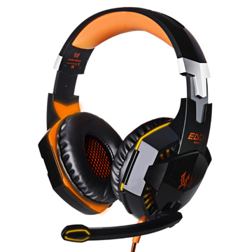 PC USB Stereo LED Gaming Headset mit Mikrofon