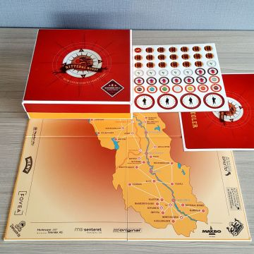 cutom design printing board game with cheap price