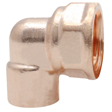 Copper Threaded Female Elbow