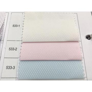 Polyester Cotton Tooling Dobby Dyed Shirt Fabric