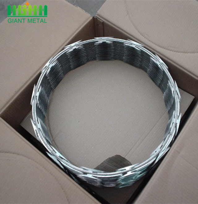 Best Price Hot Dipped Galvanized Razor barbed wire