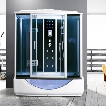 Simple Shower Room with Built-in Electric Shower