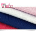 Single Jersey Plain Dye Stretch Polyester Spandex Fabric