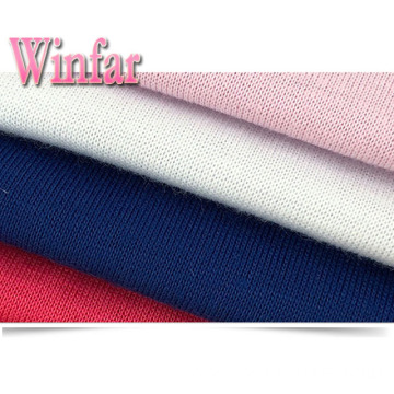 Single Jersey Spandex Polyester Stretch Fabric