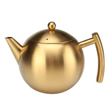 Gold Painting Tea Kettle