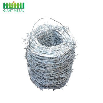 14 gauge plastic coated barbed wire