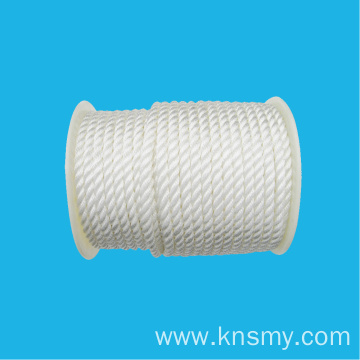 Weaving Three-Strand PP/PE/NYLON Rope