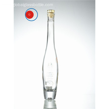 Sloping Shoulder Olive Oil Glass Bottle