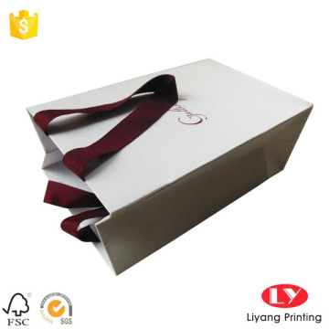 Shopping Paper Gift Bag with Logo Print Price