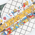 Cartoon funny characters Neck keychain necklace webbings ribbons Anime Cartoon Neck Strap Lanyard badge holder Keychain Lanyards