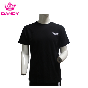 Black mens gymnastics shirts