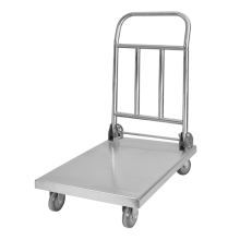 Model B Stainless Steel  Folding Platform Handcart
