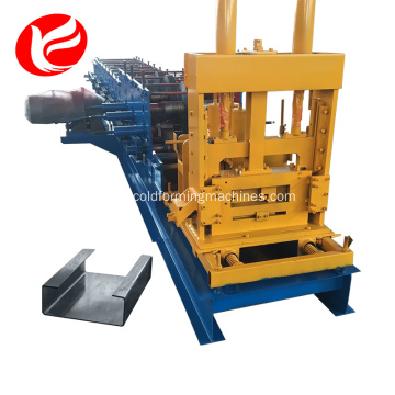 Cold steel c z purling roll forming machine