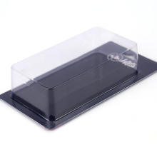 Customized clear cosmetic plastic slide card pacakging