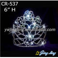 6 Inch Love Flower Pageant Crowns