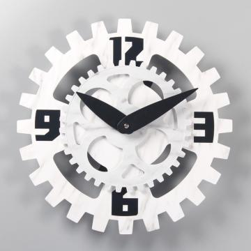 Plastic Cool and Simple Style Marble Wall Clock