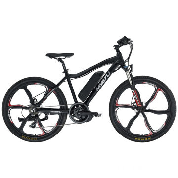 27.5 Inch Electric Mountain Bike Black
