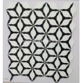 Black and White Mosaic Stone Tiles