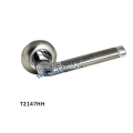 Hot sale zinc Rosette Door Handle high security