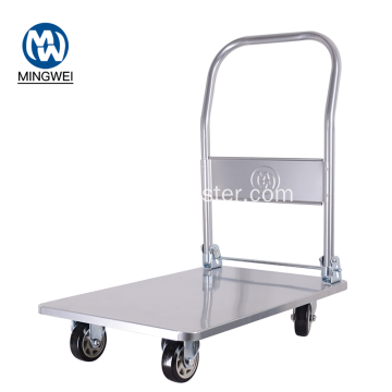 Hand Truck Trolley with Four Wheels