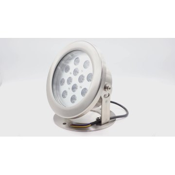12W RGB Led underwater spot lights for pool